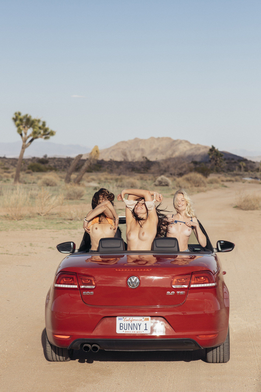 Megan Samperi Lorena Medina & Emily Shriner Road to Palm Springs