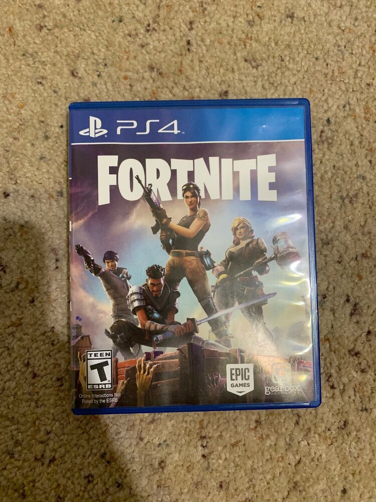 Fortnite Ps4 Physical Game Disk And Case Rare Fortnite