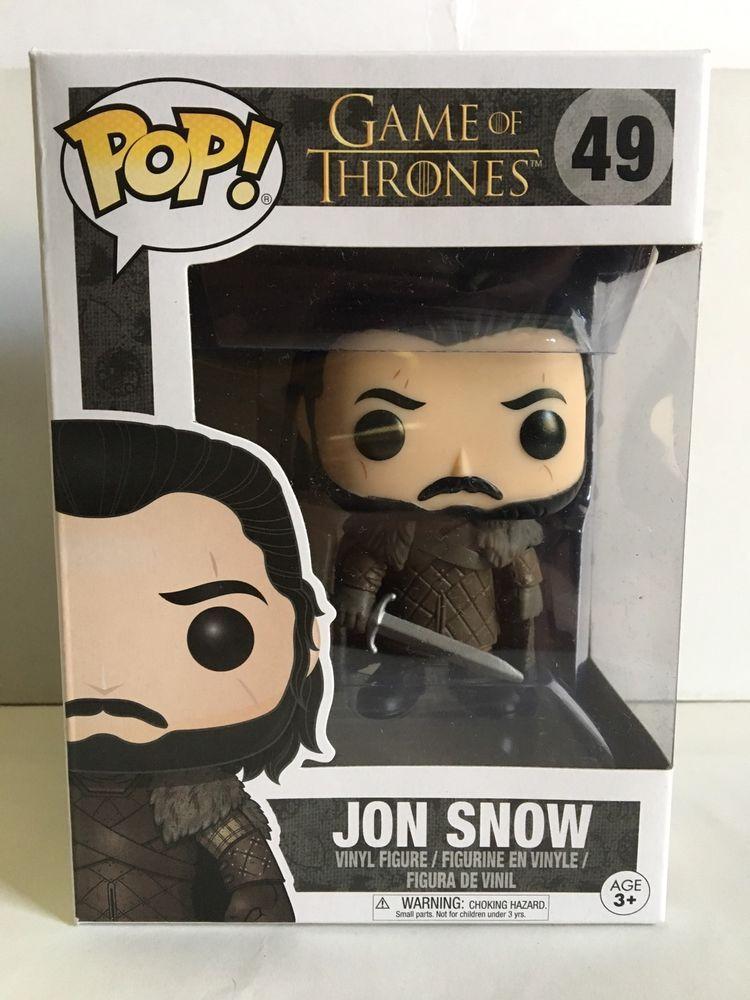 68afb14b8622 Funko POP! Game Of Thrones Edition Seven JON SNOW 49 Vinyl Figure ...