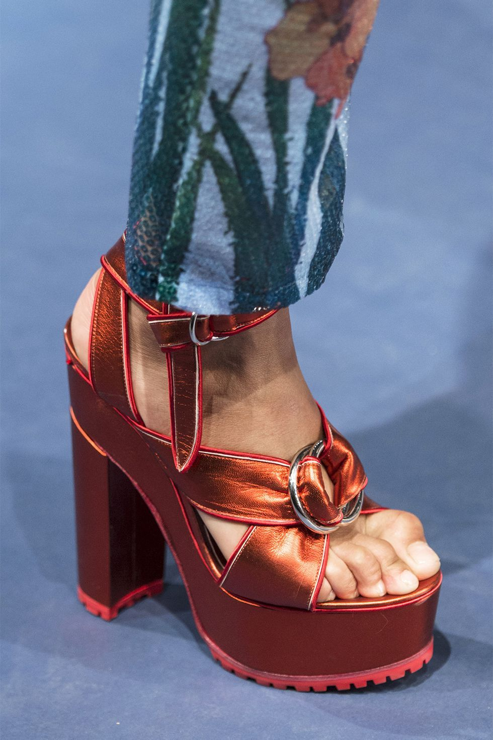 3ccac1fb1ad6 Spring 2018 Shoe Trends - Shoe Runway Trends Spring 2018