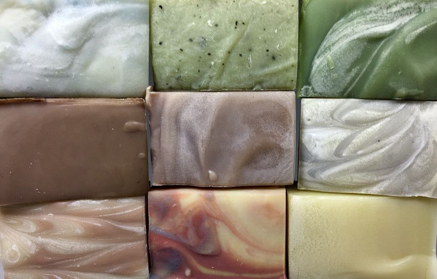 All soaps are all handmade in small batches. They are all