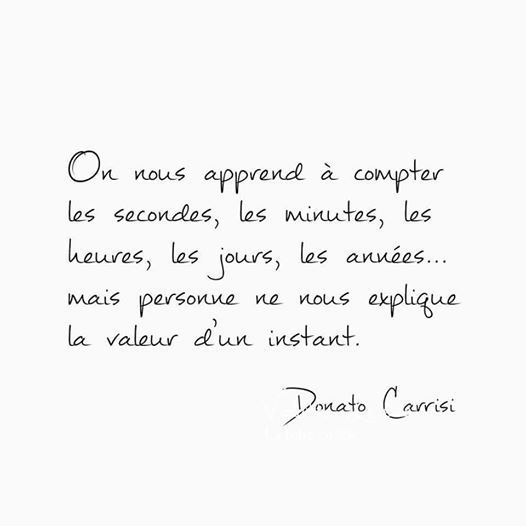 Franch Quotes : On nous apprend à compter les secondes, les minutes, les heures, les années, m... - The Love Quotes   Looking for Love Quotes ? Top rated Quotes Magazine & repository, we provide you with top quotes from around the world