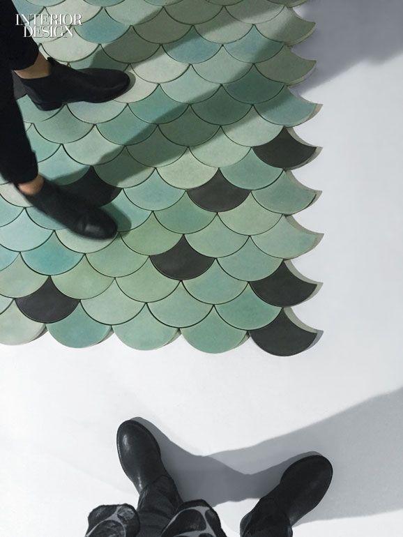 Decorative Tiles Australia Morocco's Decorative Traditions Inspires Concrete Scallop Tile