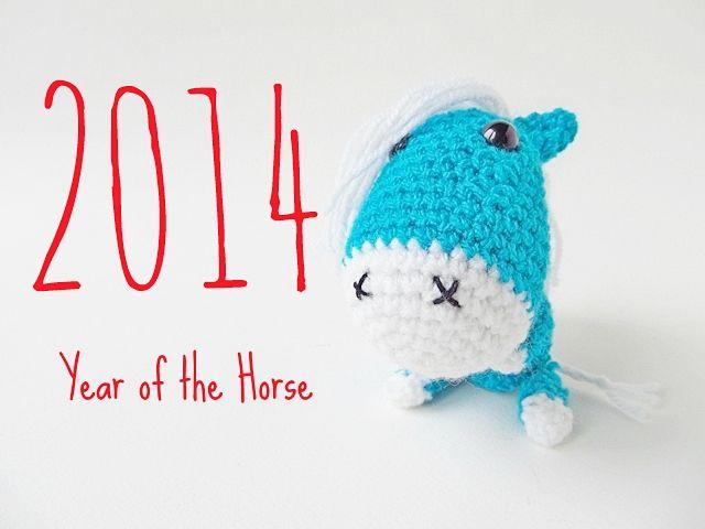Little Things Blogged: Amigurumi Horse