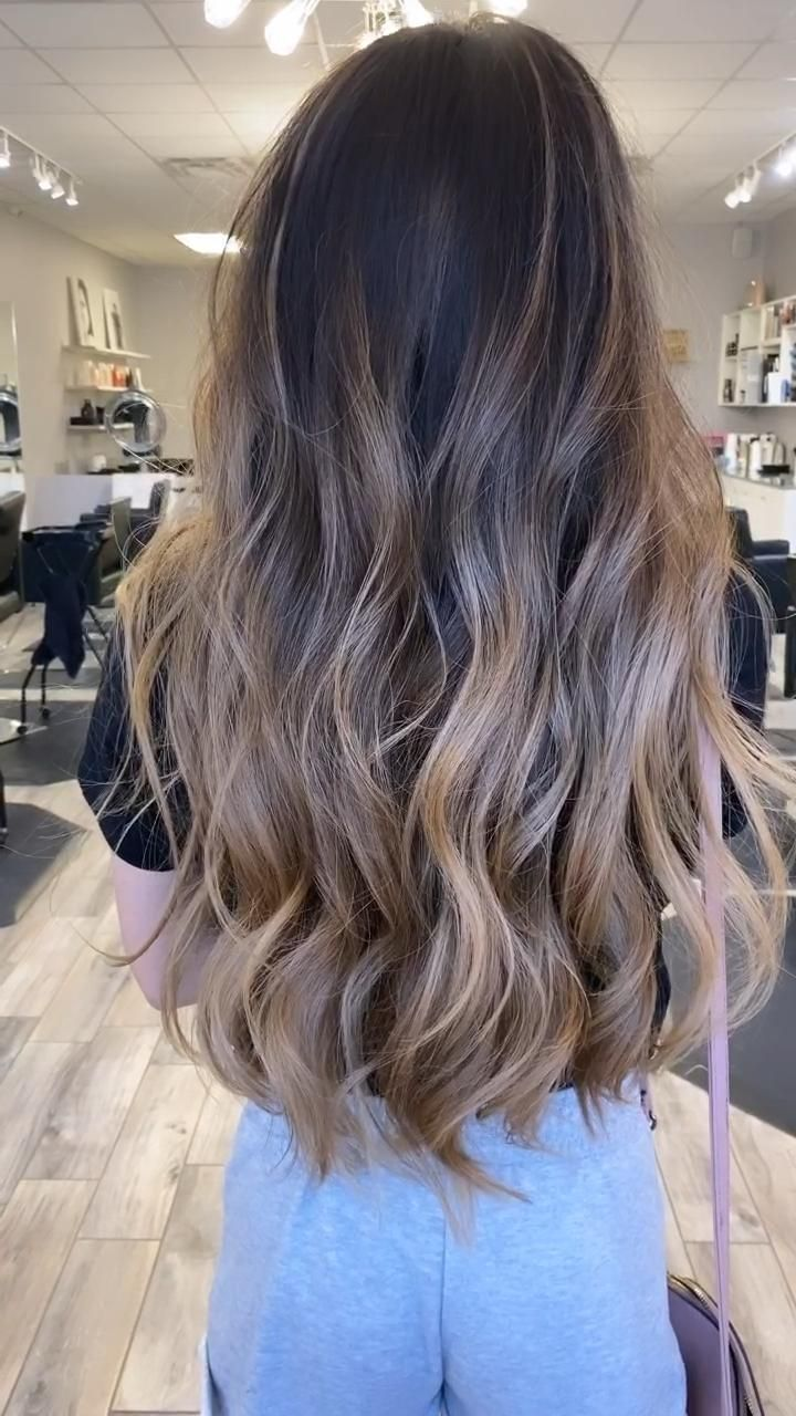 Brunette Balayage #balayage #hair #hairgoals #colo