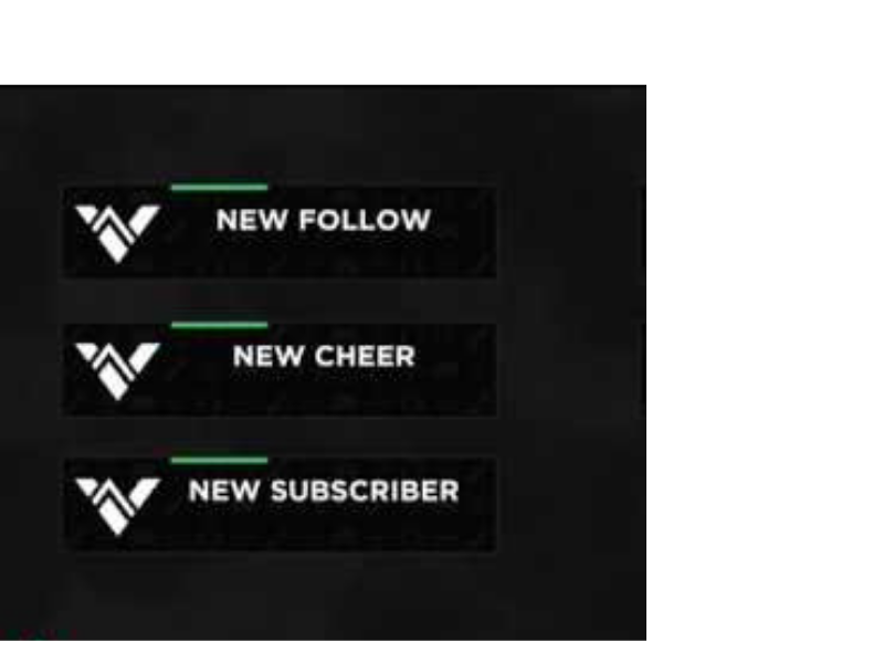 100 Free Twitch Alerts Download Twitch Overlay Template Overlays Twitch Templates