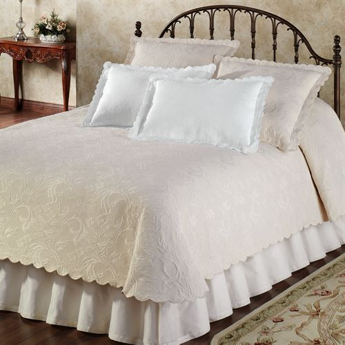 Botanica Woven Matelasse Coverlet Bedding By Belle Epoque