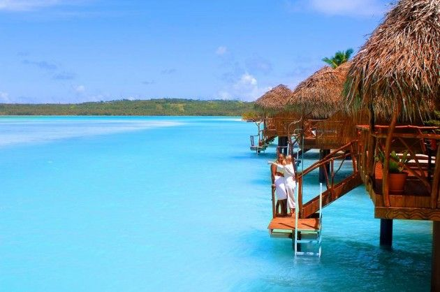 Top 10 Most Tropical Beach Resorts Aitutaki Lagoon Resort Spa