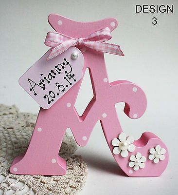 Freestanding personalised wooden letters handmade personalised freestanding personalised wooden letters handmade personalised gift names negle Choice Image
