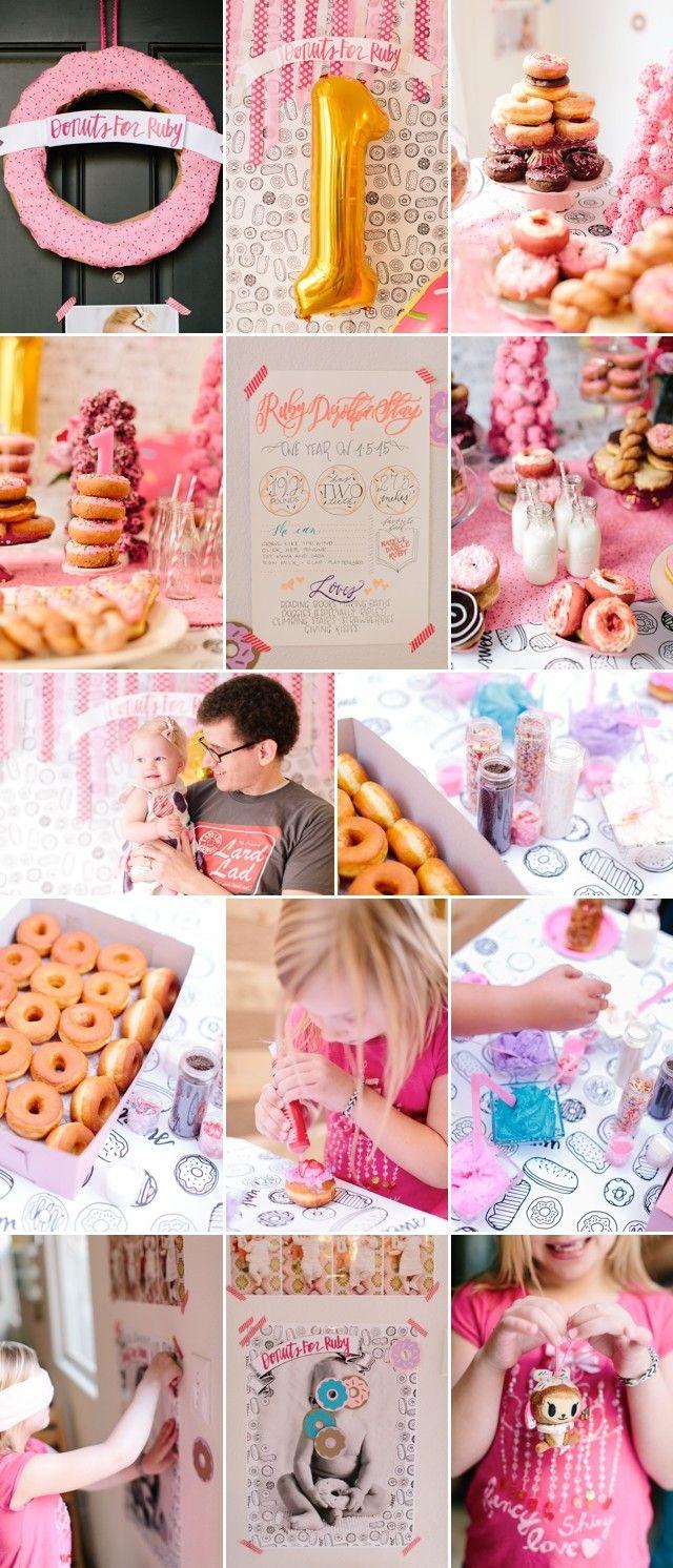 First Birthday Donut Party by Meg Ruth Photo #nationaldonutday ...