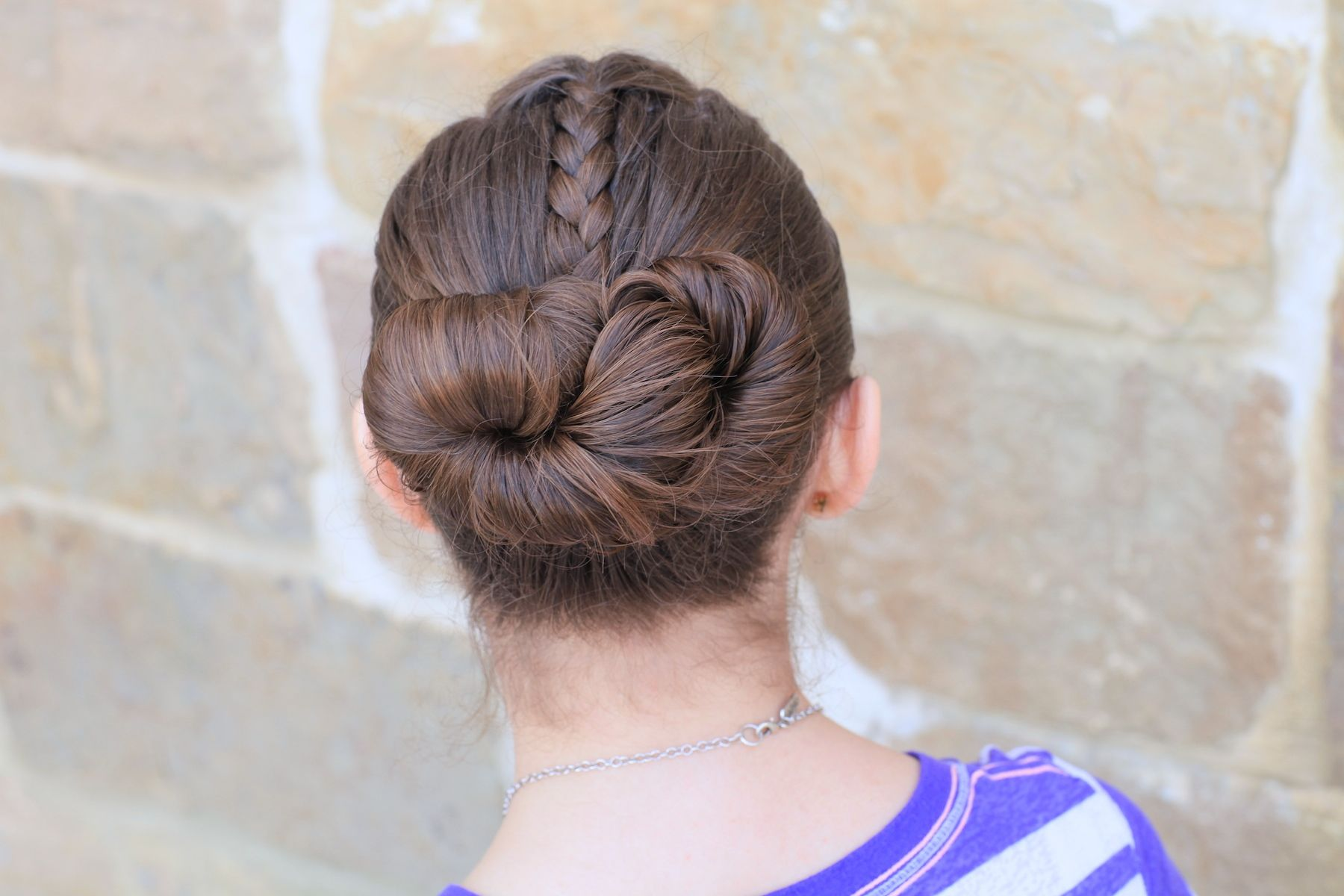 Infinity bun prom hairstyles and more hairstyles from