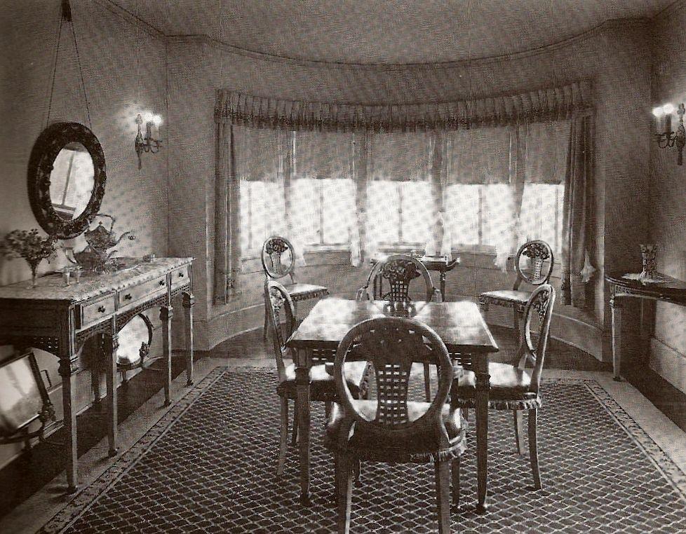 Casual Dining Room   Pickfair 1930u0027s