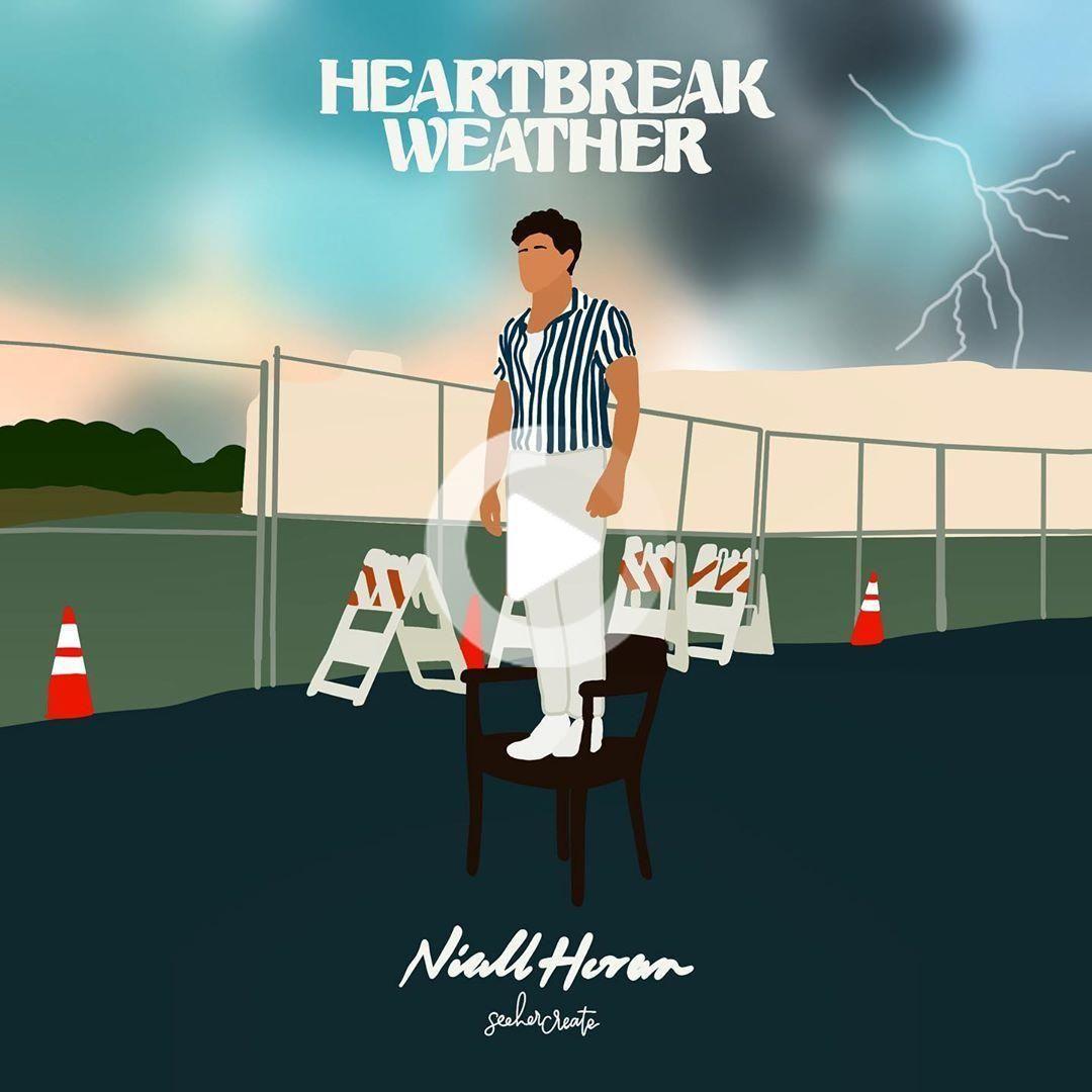 Clara On Instagram Happy Friday The 13th Go Stream Heartbreak Weather Niallhoran In 2020 Weather Art One Direction Art Heartbreak
