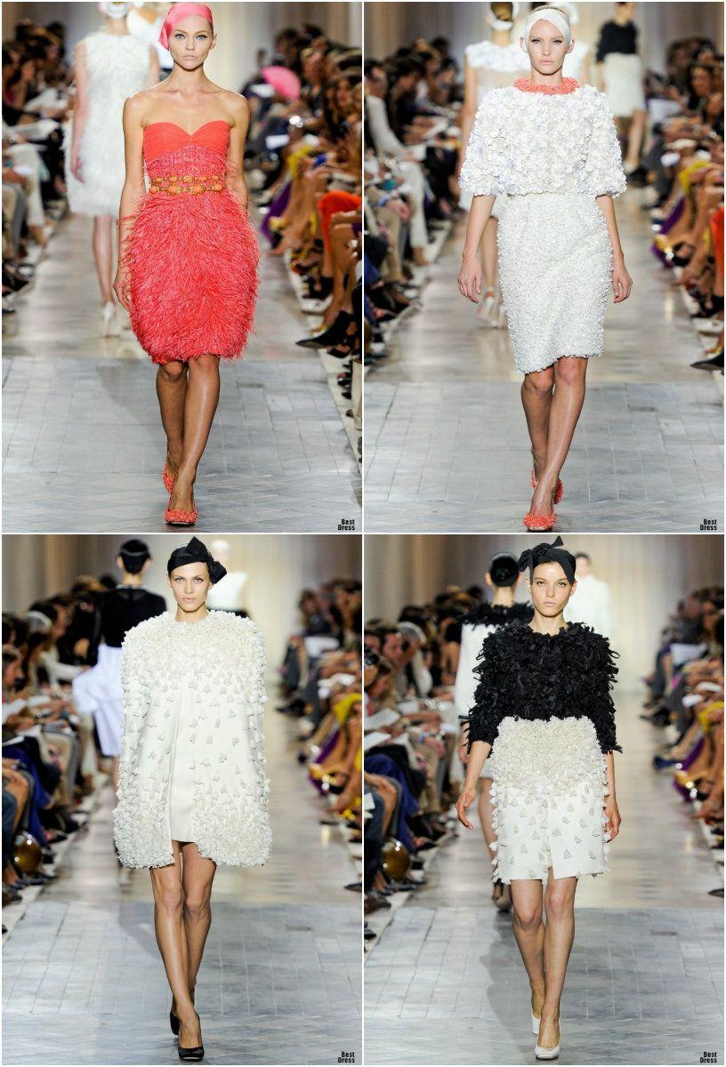 #kamzakrasou #sexi #love #jeans #clothes #dress #shoes #fashion #style #outfit #heels #bags #blouses #dress #dresses #dressup #trendy #tip #new #kiss Fotografie z prehliadky HAUTE COUTURE Giambattista Valli - KAMzaKRÁSOU.sk