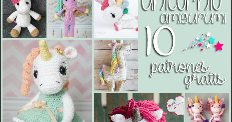unicorn crochet pattern, unicorn pattern, crochet pattern von ... | 420x800