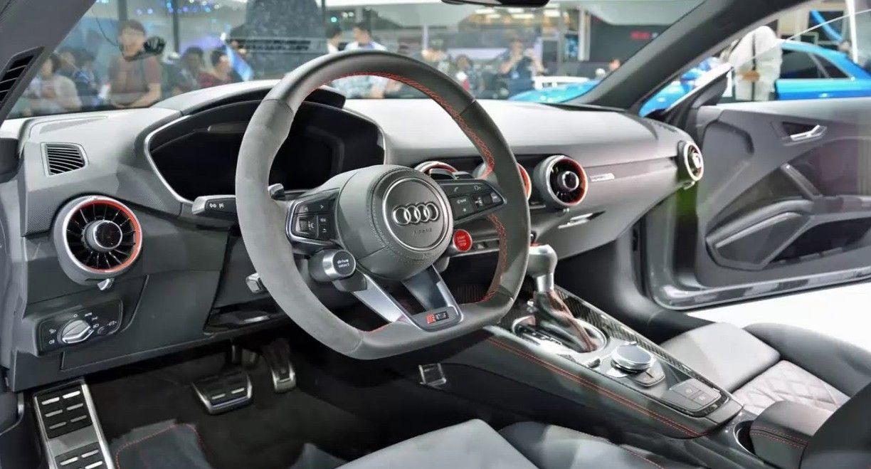 Newcarreport 2017 Audi Tt Rs Interior Cars Car Autos