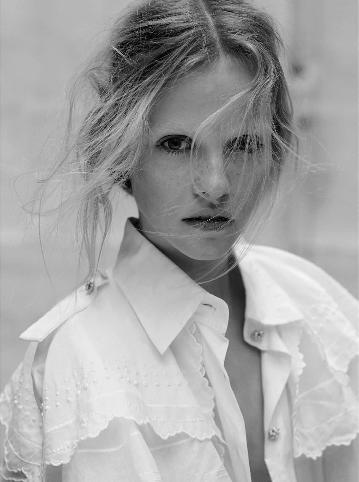 Ginta Lapina by Santiago & Mauricio Sierra for L'Express Styles February 2015