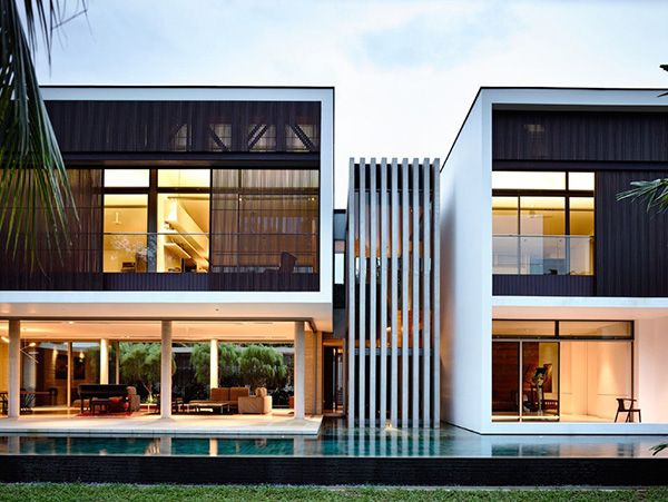 Striking modern addition brings light and space by ONG&ONG