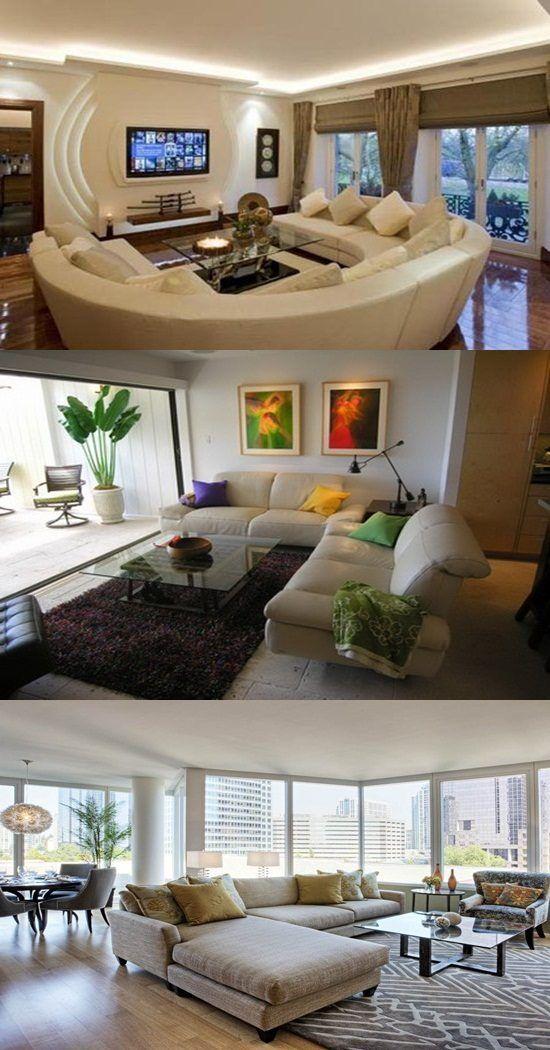 Living Room Condo Design