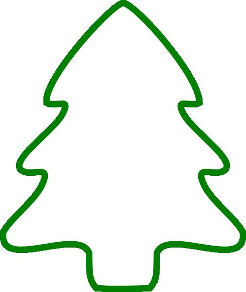 Green Christmas Tree Outline Hi Png 504 598 Pixels Christmas Tree Outline Tree Outline Christmas Tree Template