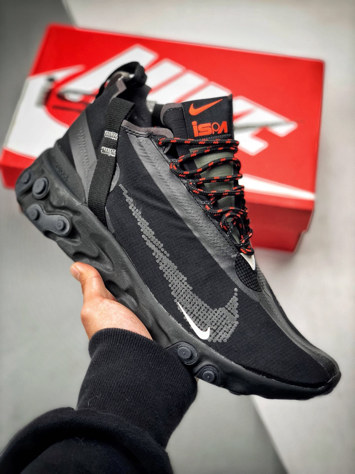 NIKE React LW WR Mid Low ISPA AT3143