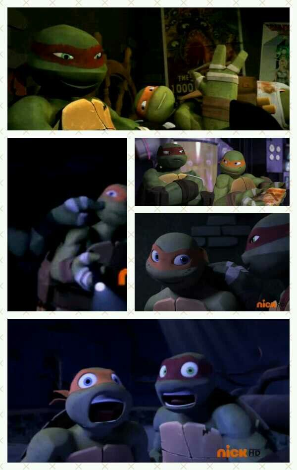 Raph and mikey moments  Best turtles EVER! <<<The top one HAS to be