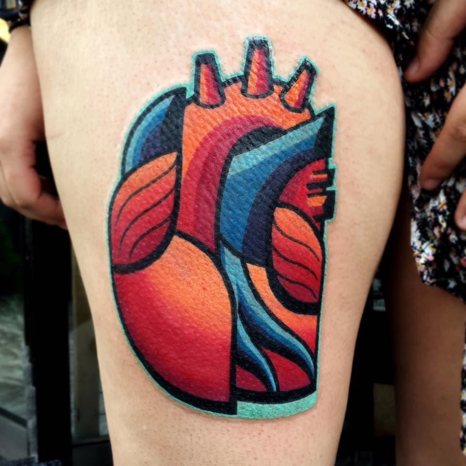 Abstract Tattoo Artist London