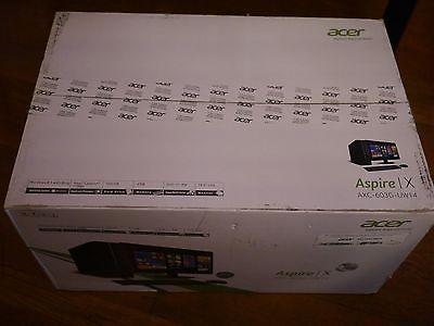 "Acer Aspire AXC-603G-UW14 Intel 2GHz 4GB 500GB Desktop  19.5"" Monitor Brand New"