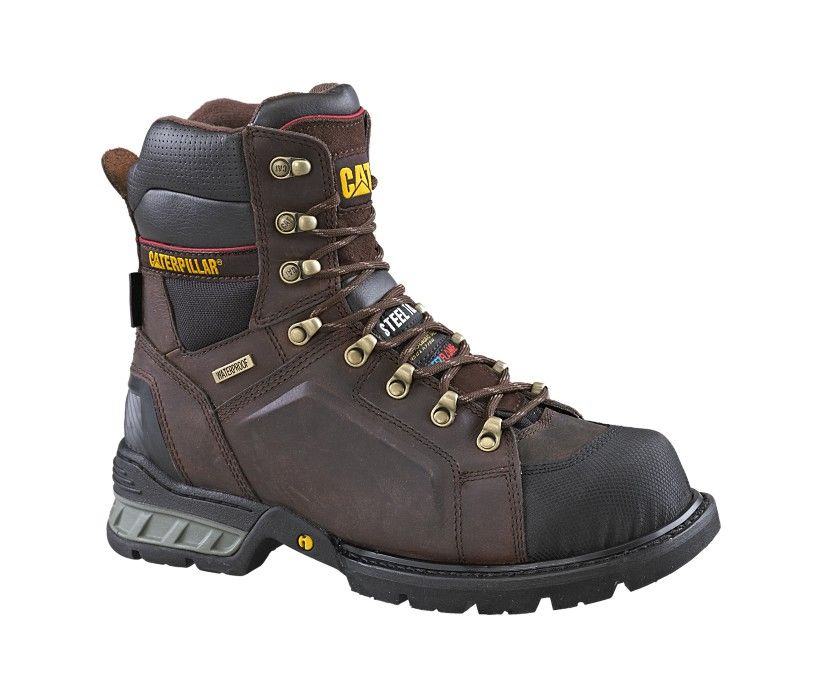 Durango mens black leather side zip western boots - Excavator 8 Quot Ff Csa Men S P715606 Catfootwear