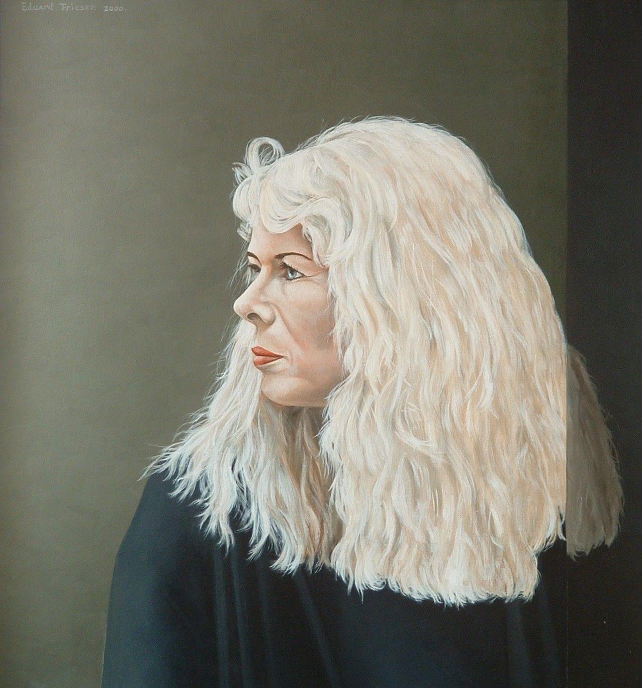 Eduard F.R. Frieser. Beitste, mijn vrouw. Portret