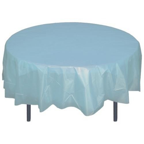 Sky Blue Round Satin Tablecloths Sale Uk Round Table Covers Plastic Table Covers Table Covers