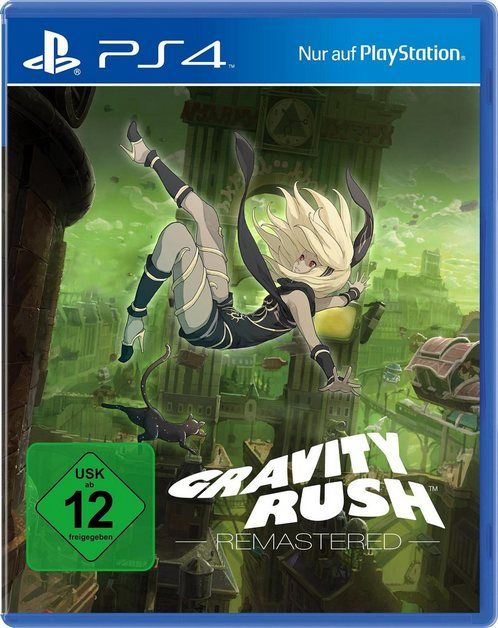 Playstation 4 Gravity Rush Remastered Playstation 4 Fortsetzung Des Ps4 Vita Originals Exklusiv Fur Ps4 Online Kaufen Ps4 Juegos Videojuegos Ps4