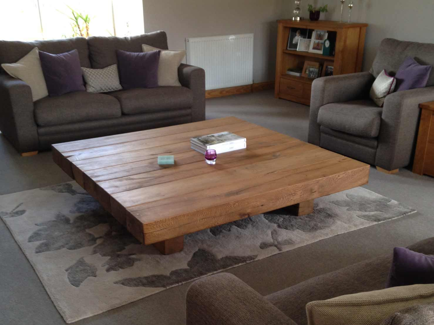 Image Result For Solid Wood Coffee Table Square Coffee Table Low Coffee Table Kitchen Design Modern Small [ 1108 x 1478 Pixel ]