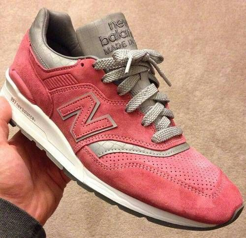 new balance 997 rose et grise