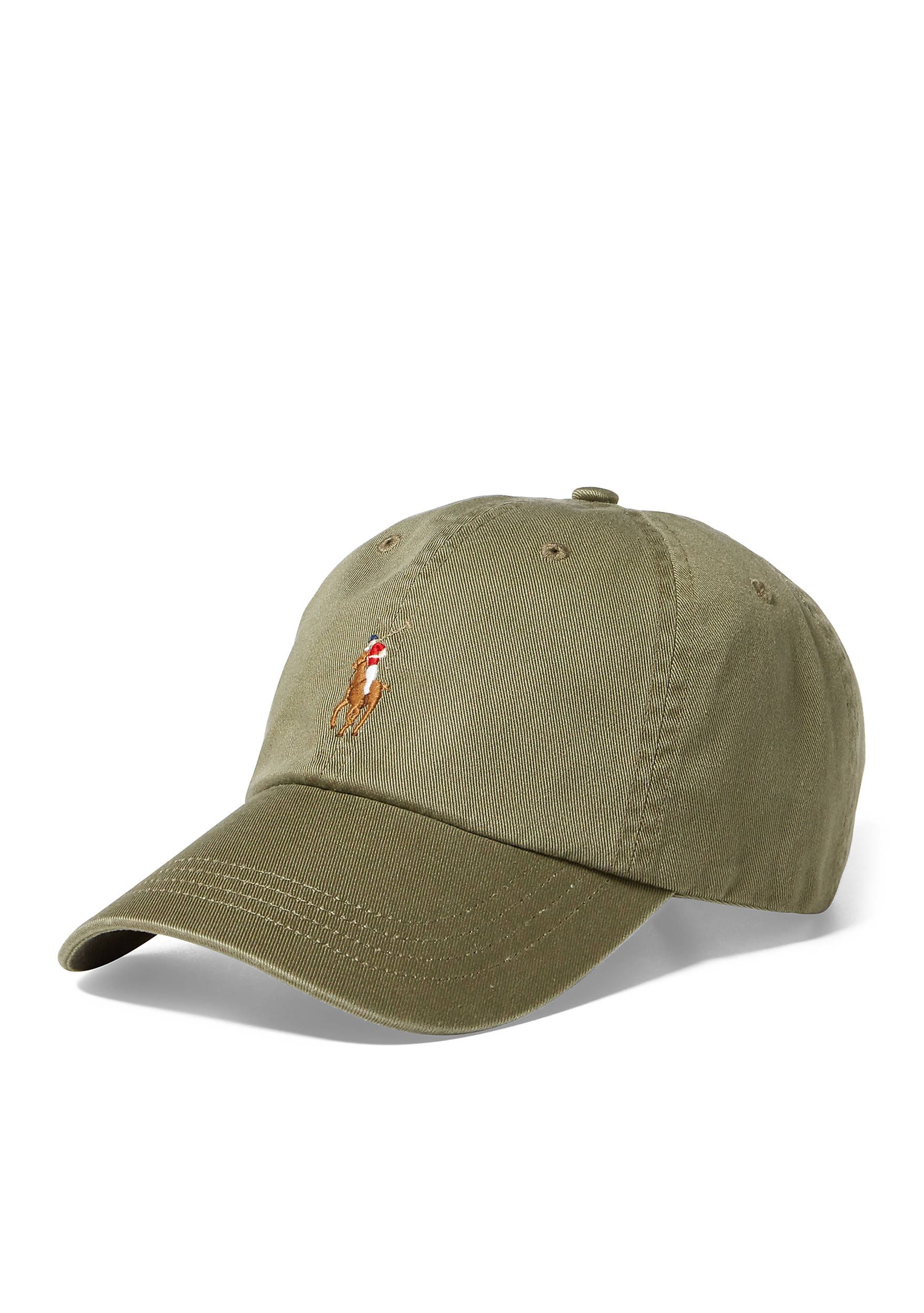 1fd3aef0ff4 Polo Ralph Lauren Classic Chino Sports Cap Green Men s Accessories Hats   Green 32016021227203