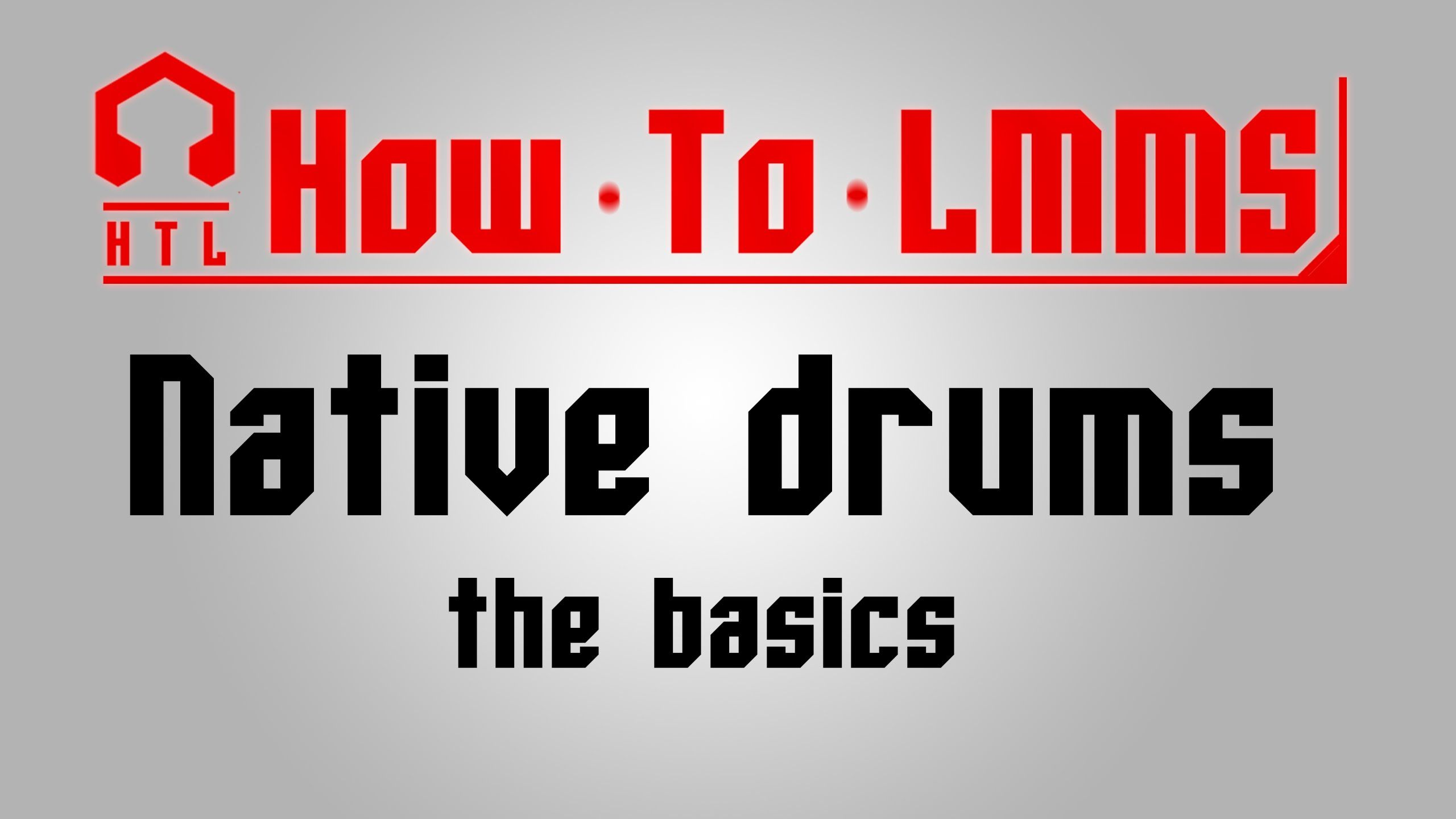 Here's how to make drum samples from LMMS sound better