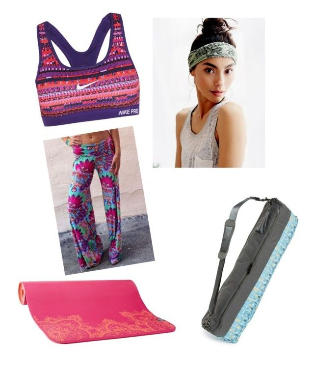 """""""Yoga"""" by solia-horn on Polyvore featuring DL Activ, prAna, NIKE and Free People"""