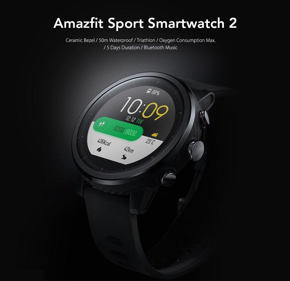 AMAZFIT Stratos / Pace 2 Smartwatch Global Version