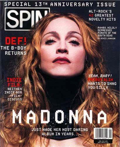 Evolution of Madonna Magazine Covers, 1983-2011