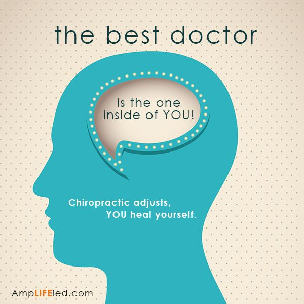 The best doctor is the one inside of you!  Learn how to unlock your health and wellness with chiropractic. www.beyondchiropracticfl.com.   REPIN this to inspire others!