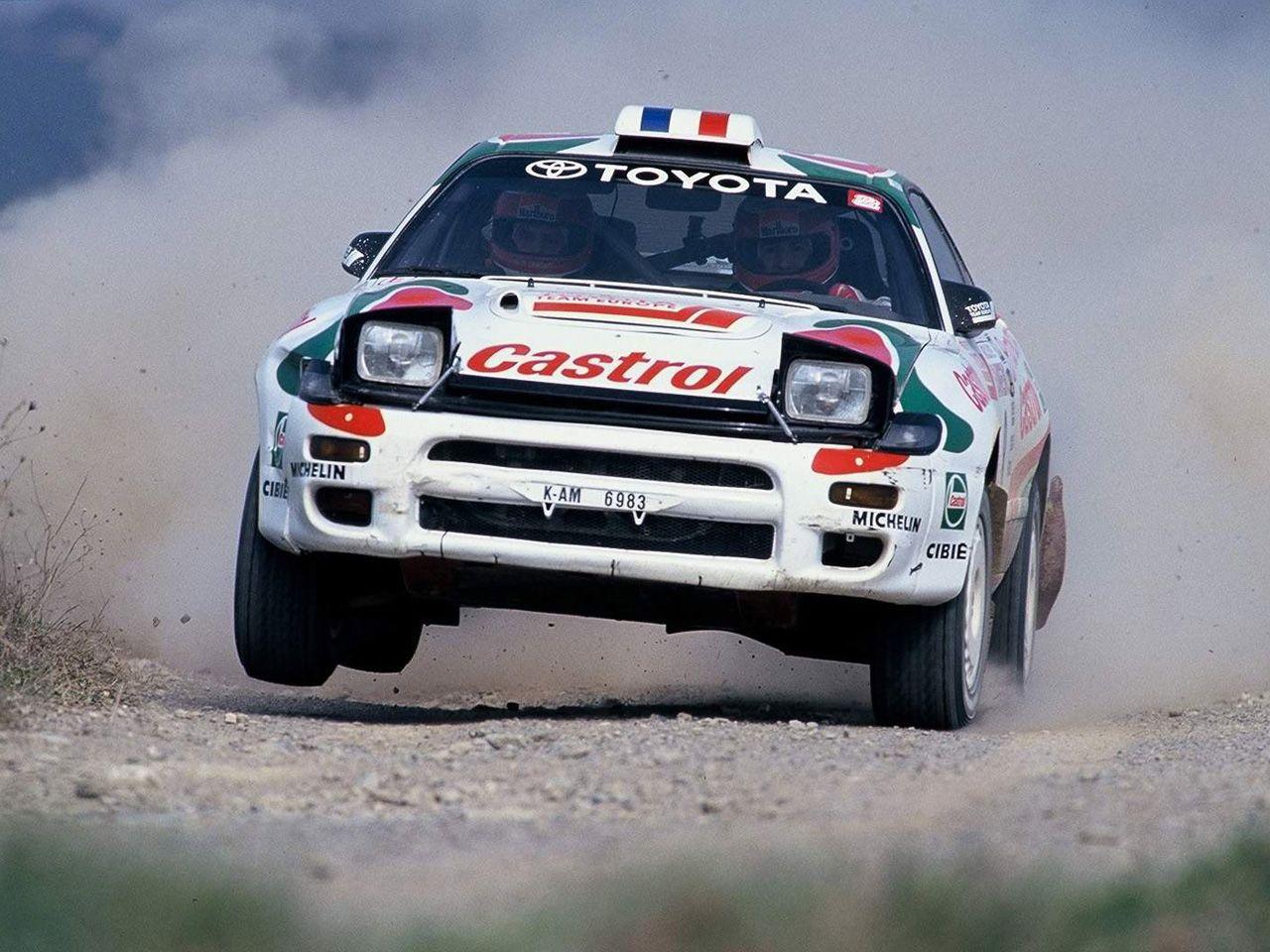Toyota Celica GT4 rally car | paint jobs | Pinterest | Toyota celica ...