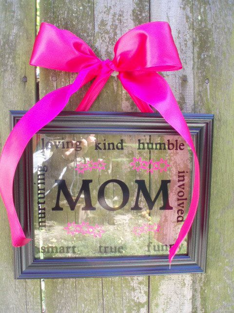 Personalized Framed Art Etsy Holiday Mothers Day