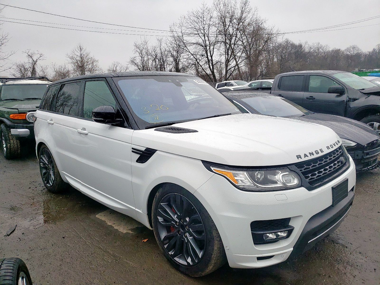 2017 LAND ROVER RANGE ROVER SPORT HSE DYNAMIC 39900 in