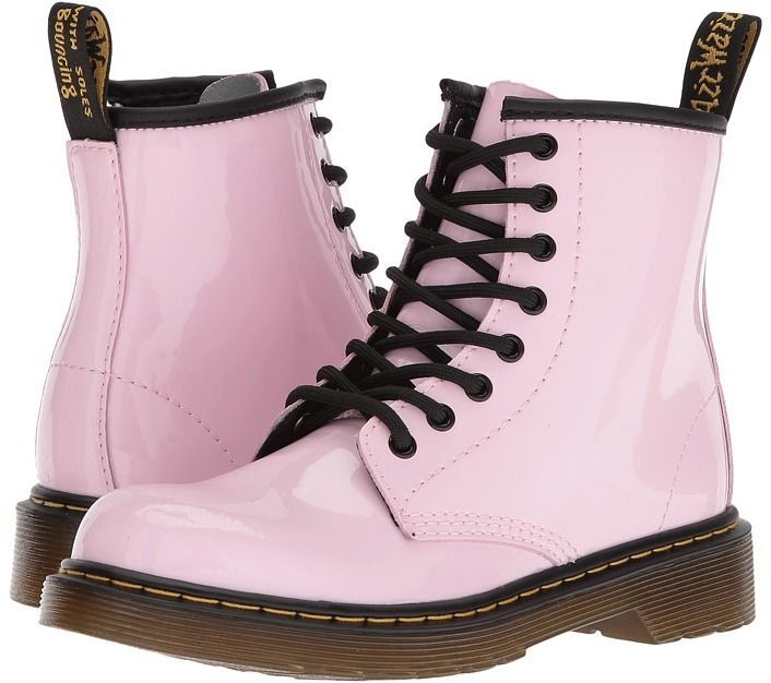 3cc71dbd9fb Dr. Martens Kid's Collection - Delaney Lace Boot Kids Shoes   Boots ...