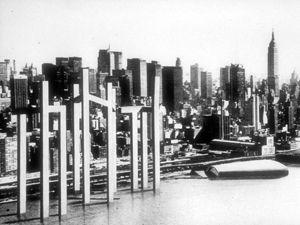 Manhattan penn yard - parallax skyscrapers