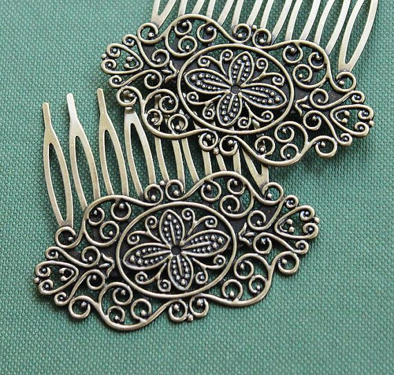 2Pcs Wholesale High Quality Antique bronze plated by clothcampDIY, $3.80