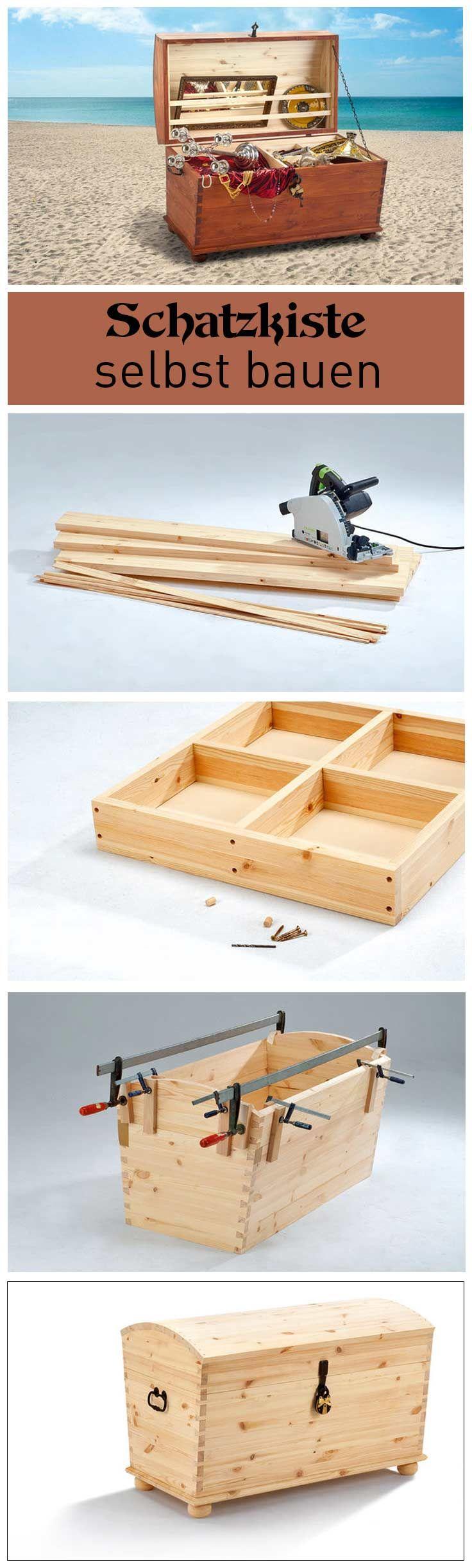 truhe selber bauen woodworking woods and diy furniture. Black Bedroom Furniture Sets. Home Design Ideas