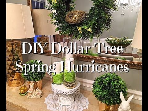 Diy Dollar Tree Spring Easter Hurricanes How To Youtube
