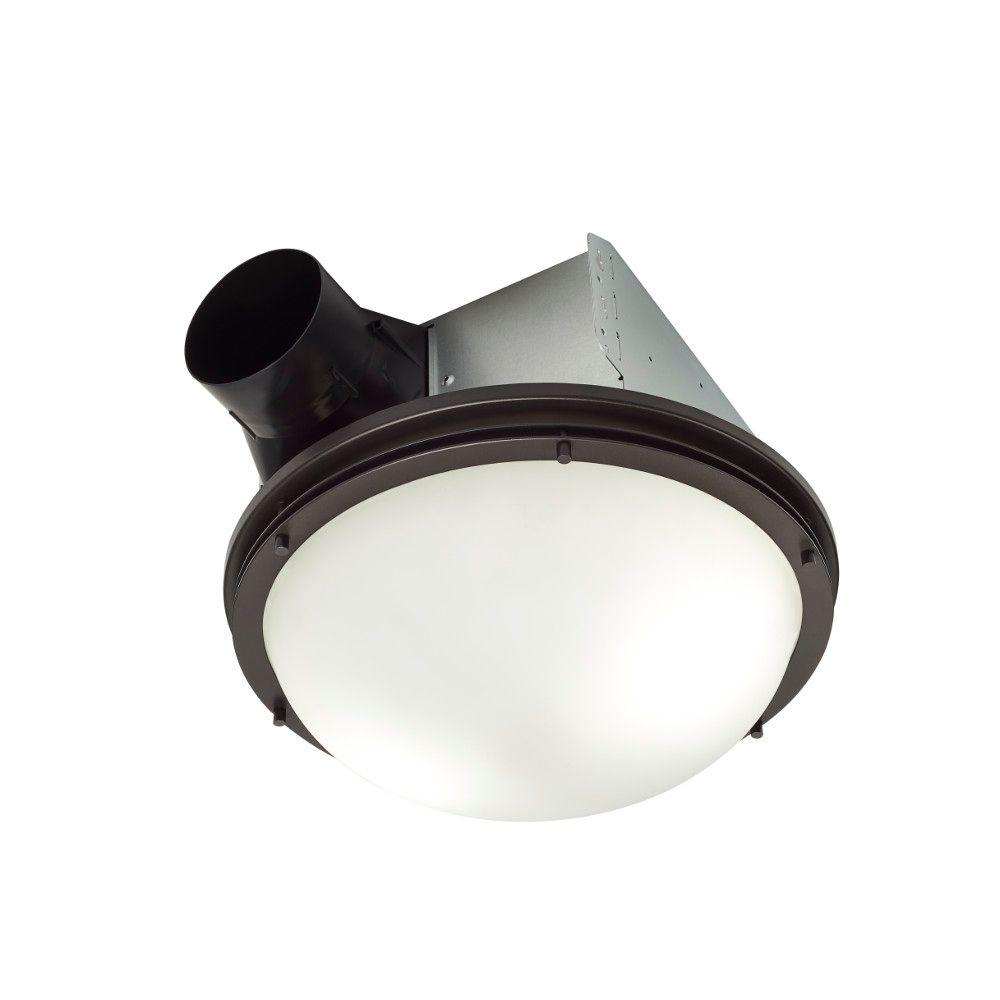Nutone Invent Decorative Oil Rubbed Bronze 80 Cfm Ceiling