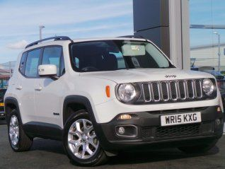 Jeep Renegade 1 4 Multiair Ii Longitude 5dr Jeep Used Jeep